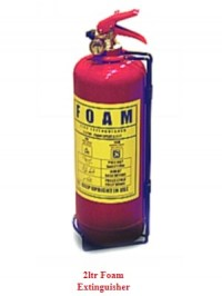 2kg Foam Fire Extinguisher as supplied by Attic Stairs Ireland