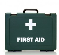 First Aid Kit as supplied by Attic Stairs Ireland